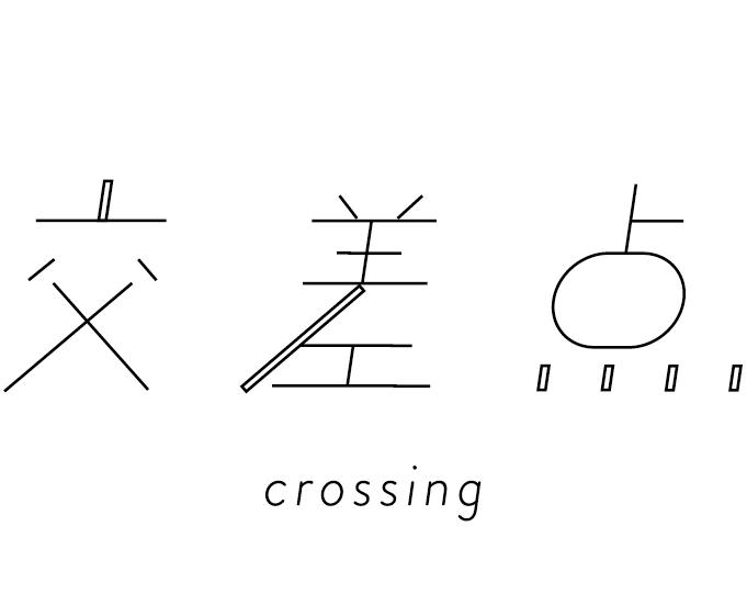 交差点-crossing